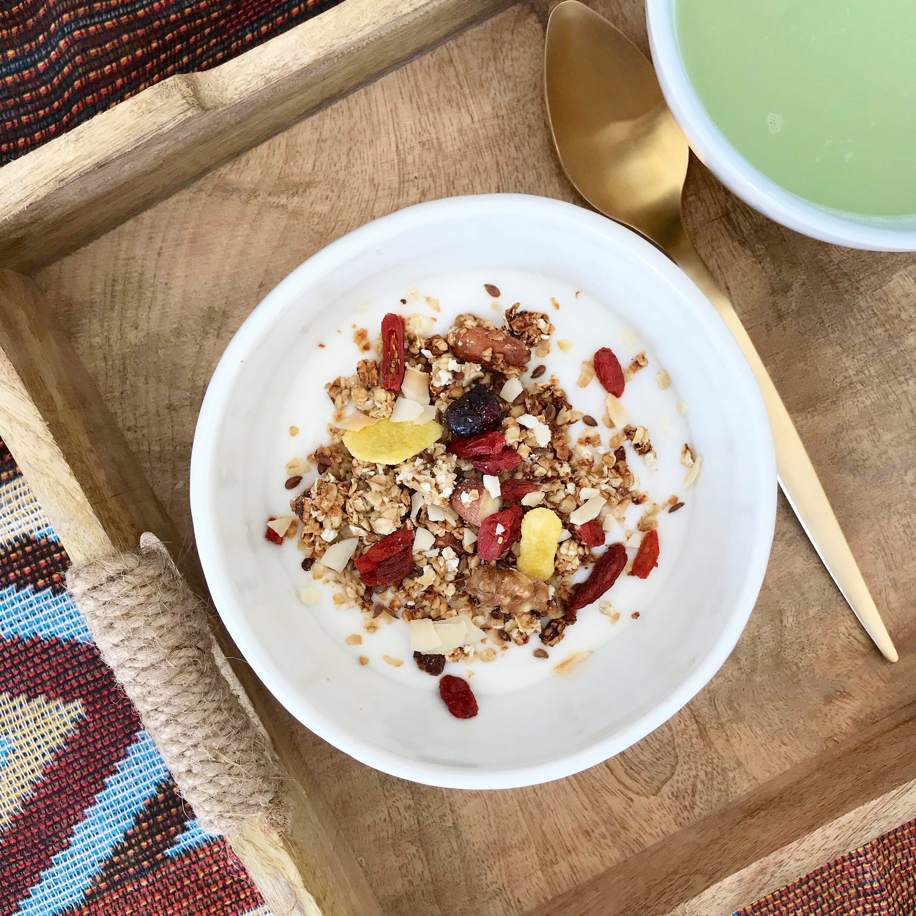 Homemade vegan granola i love homemade vegan granola its packed with nutrients and theres so many variations depending on what you like and how nutritious you want it ccuart Image collections